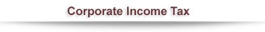 Corporate Income Tax
